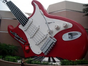 Disney Rock 'n' Roller Coaster Guitar