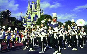 Student Marching band at Disney