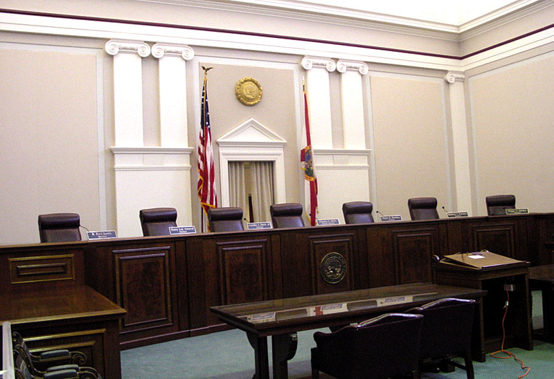 Inside The Flordia Supreme Court Sonshine Educational Tours